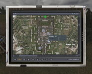 Military HQ - PDA Map view-location (Pripyat, Lost Alpha)