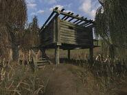 Kolovrat's hut (Swamp, Military Warehouses, Lost Alpha)
