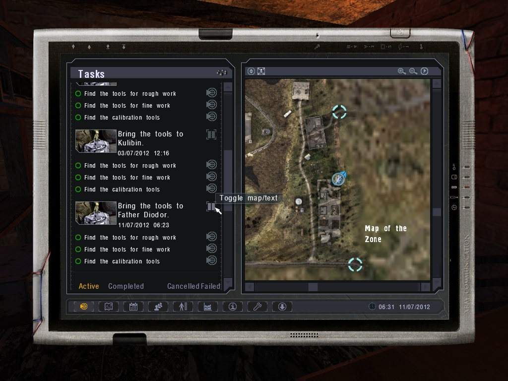 Where to find tools in Stalker