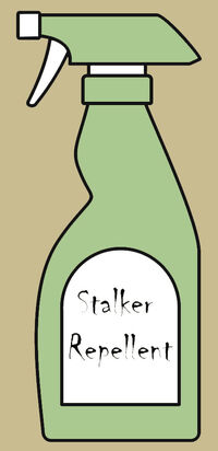 Stalker repellent