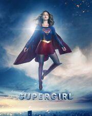Supergirl flighing