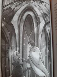 13 - Sophie, Alden in front of Terik's castle