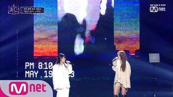 ENG sub 7회 ♬ instagram - 아아 @3차 경연 보컬 유닛 컴백전쟁 퀸덤 7화