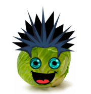 Fitz as a cabbage