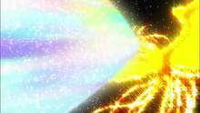 Raio do Miracle Rainbow Burst