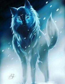 Not my art; wolf