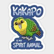 Kakapo is my spirit animal