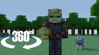 You're PewDiePie's New Minecraft Pet In 360 VR