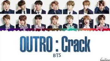 BTS (日本語字幕) – 'OUTRO CRACK' Lyrics Color Coded Eng