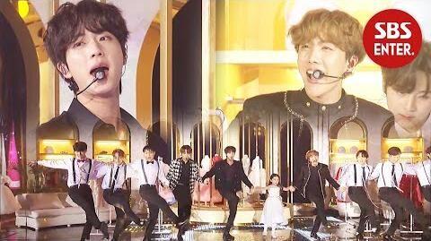 '대부 요정의 마법♬' 진&제이홉의 'Feliz Navidad' @ 2019 SBS 가요대전