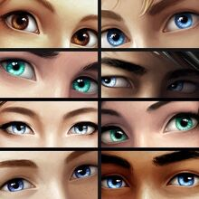 Characters' Eyes