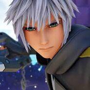 Riku's face