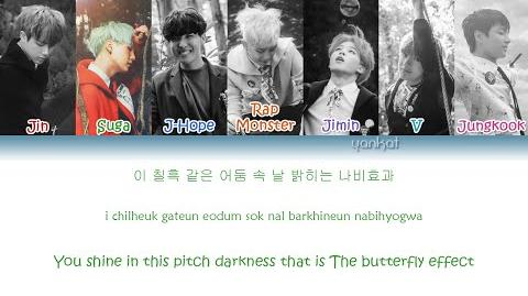 BTS (방탄소년단) - Butterfly (Color Coded Han Rom Eng Lyrics) by Yankat-0