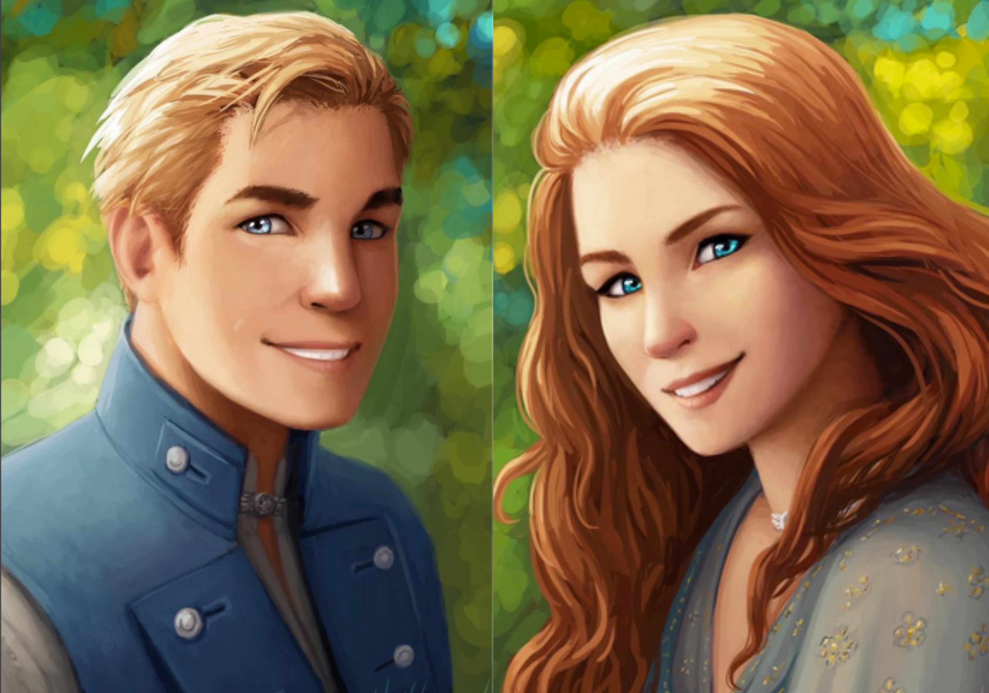 Grady and Edaline | Lost Cities Keeper Wiki | Fandom