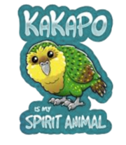 Kakapo is my spirit animal