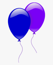 71-715297 party-balloons-two-set-of-2-objects-clipart