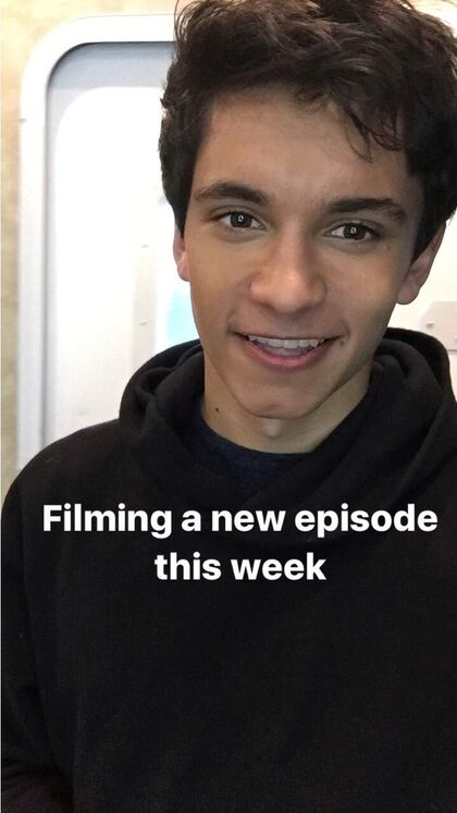 2017-04-24 - INSTASTORY - Ajay Friese - Ajay - New Episode this week -8 hrs a