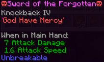 Sword of the Forgotten