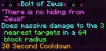 Bolt of zeus