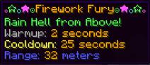 Firework fury