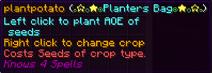 Planters bag
