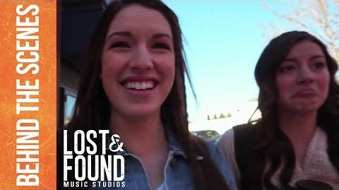 Lost & Found Music Studios - Behind the Scenes Characters vs Actors