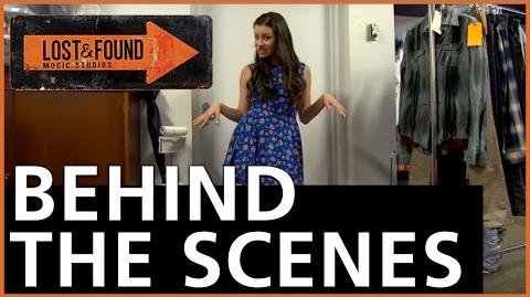 Lost & Found Music Studios - Behind the Scenes Wardrobe