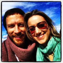 Kris Holden-Ried and Zoie Palmer (Seattle USA April 2014)