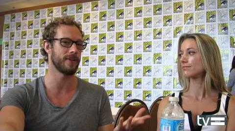 Kris Holden-Ried and Zoie Palmer Interview (SDCC 2013)