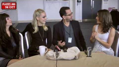 Lost Girl Interview - MCM Expo London 2013 (Solo, Vaugier, Skarsten, Firestone)
