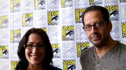 Emily Andras and Jay Firestone Interview (SDCC 2012)