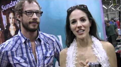 Anna Silk, Kris Holden-Ried Interview (Fan Expo 2010)