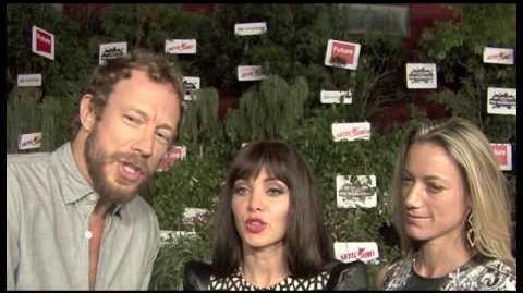Kris Holden-Ried, Ksenia Solo, Zoie Palmer (SDCC 2013)