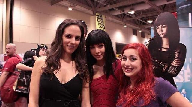 Anna Silk and Ksenia Solo Interview (Fan Expo 2011)