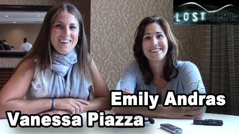 Emily Andras & Vanessa Piazza Interview (SDCC 2013)