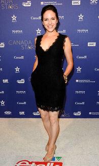 Anna Silk (Canada Stars in Awards 2015)
