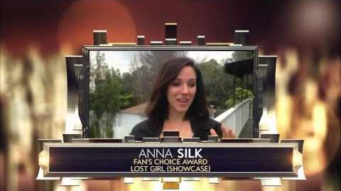 Anna Silk - 2015 Canadian Screen Awards