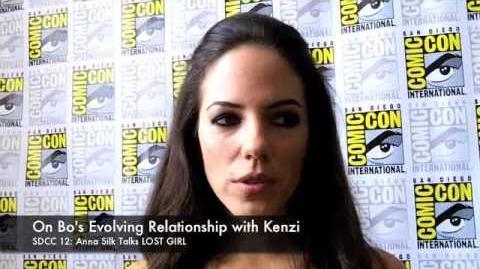 Anna Silk Talks LOST GIRL (SDCC 2012)