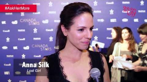 Anna Silk interview (2015 Canada Stars in Awards Season)