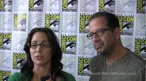 Jay Firestone and Emily Andras Interview (SDCC 2012)