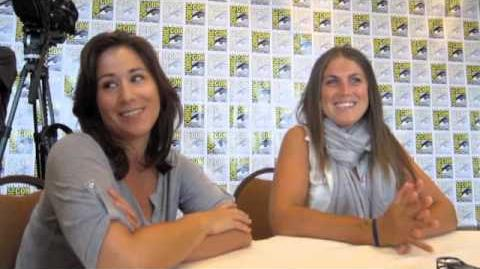Emily Andras & Vanessa Piazza at SDCC 2013