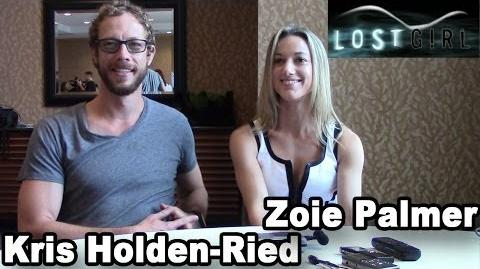 Kris Holden-Ried and Zoie Palmer - Season 4 Interview SDCC 2013