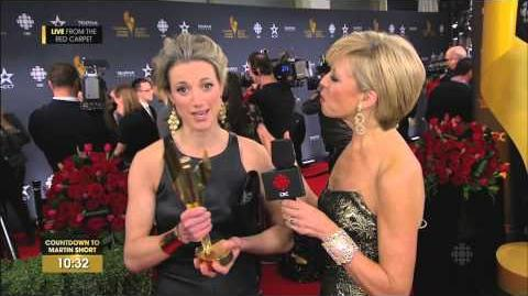Zoie Palmer & Lost Girl - 2014 CSA Fan Choice