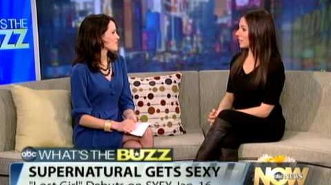 "Anna Silk - Interview ""ABC News Now"" (2012)"