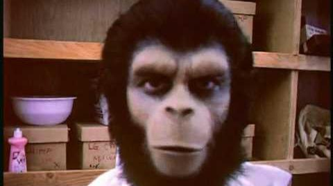 """Roddy McDowall's home movies from """"Planet Of The Apes"""" (1968)"""