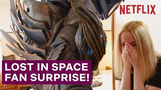 A Lost In Space Superfan Gets The Surprise Of Her Life Netflix