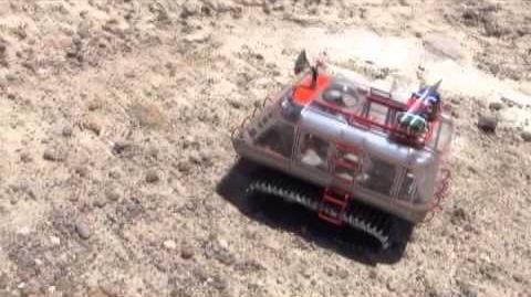 Lost In Space chariot returns to Red Rock Canyon