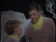 Guy Williams with Billy Mumy in 'Lost in Space'