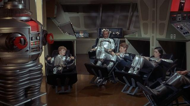 Lost in Space BluRay - Blast Off Into Space WIDESCREEN (24mps)