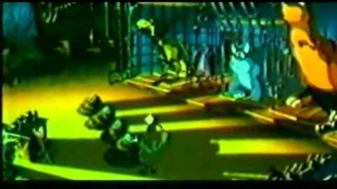 We're Back a Dinosaur Story Cage Scene(slightly restored)